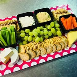Cheese & Dips Platter $42
