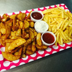 Chips & Wedges Platter $35
