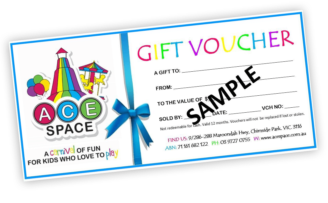ace space gift voucher